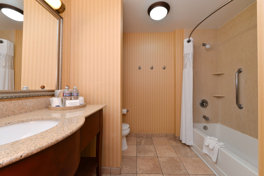 Bathroom, Hampton Inn Albuquerque-University/Midtown