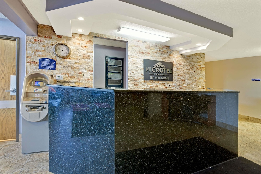 Lobby, Microtel Inn & Suites by Wyndham Roseville/Detroit Area