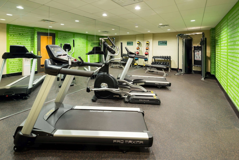 Fitness Facility, La Quinta Inn & Suites by Wyndham Tampa North I-75