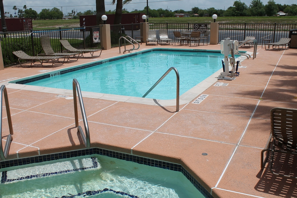 Pool, Holiday Inn Express Harlingen, an IHG Hotel
