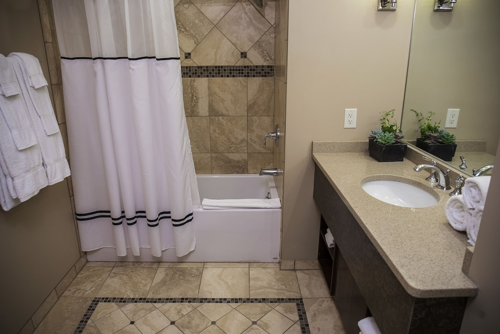 Bathroom, Lake Lawn Resort
