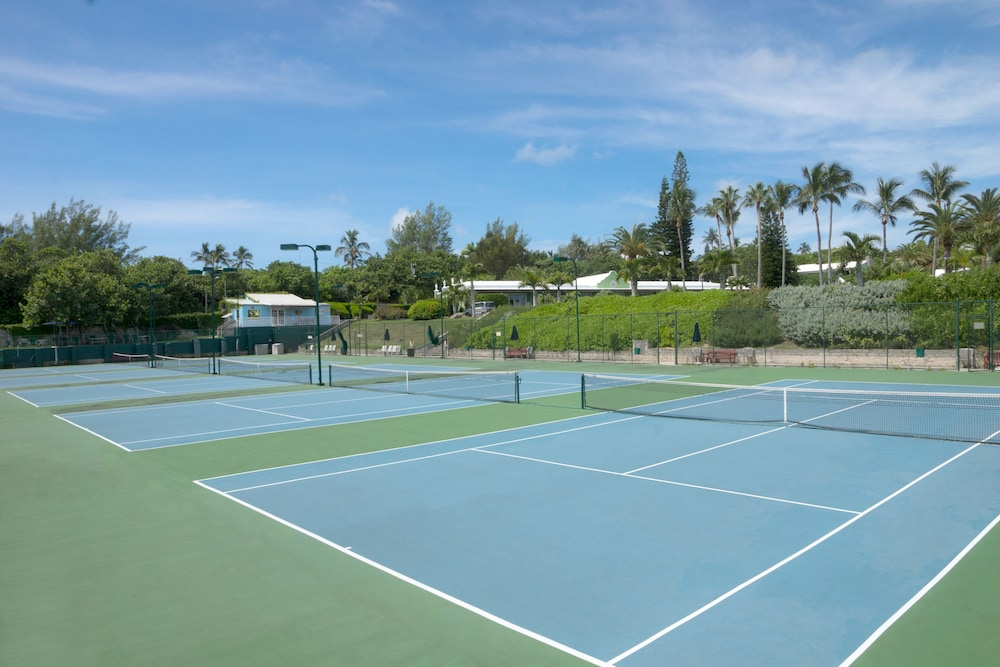 Tennis Court, Elbow Beach