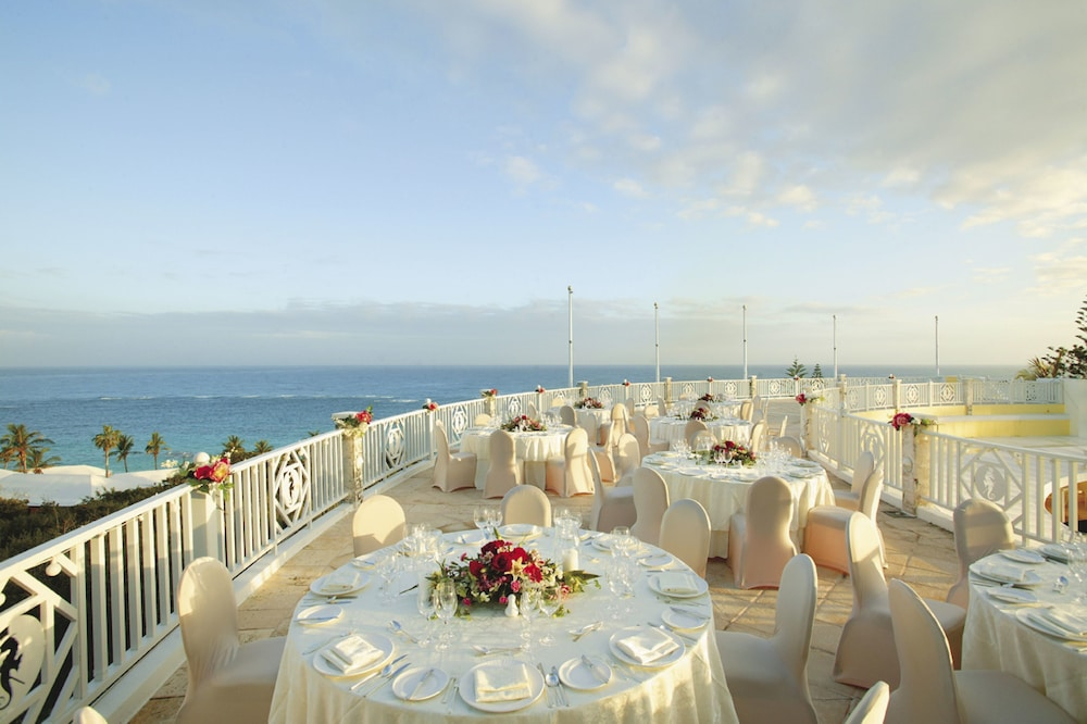 Outdoor Wedding Area, Elbow Beach