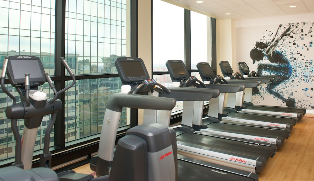 Fitness Facility, Sheraton Indianapolis City Centre Hotel
