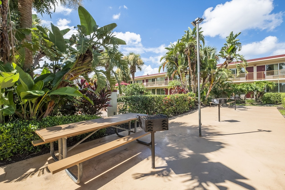 BBQ/Picnic Area, Red Roof Inn PLUS+ & Suites Naples Downtown-5th Ave S