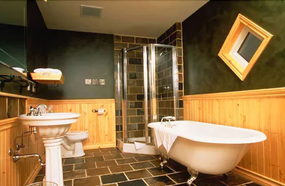 Bathroom, Buffalo Mountain Lodge