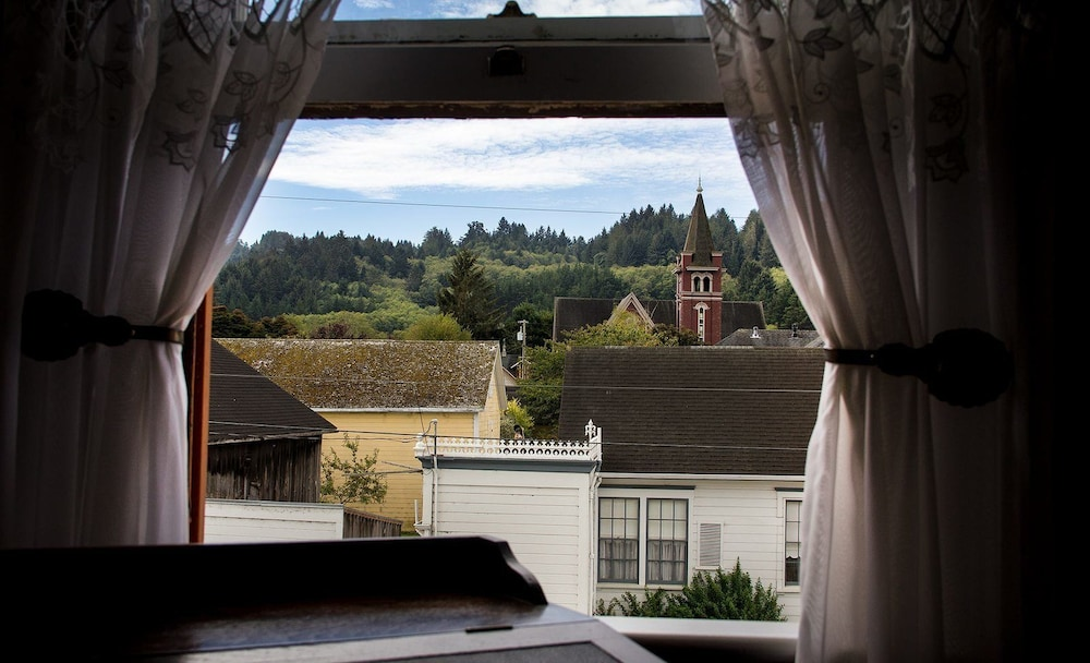 View from Room, Gingerbread Mansion Inn