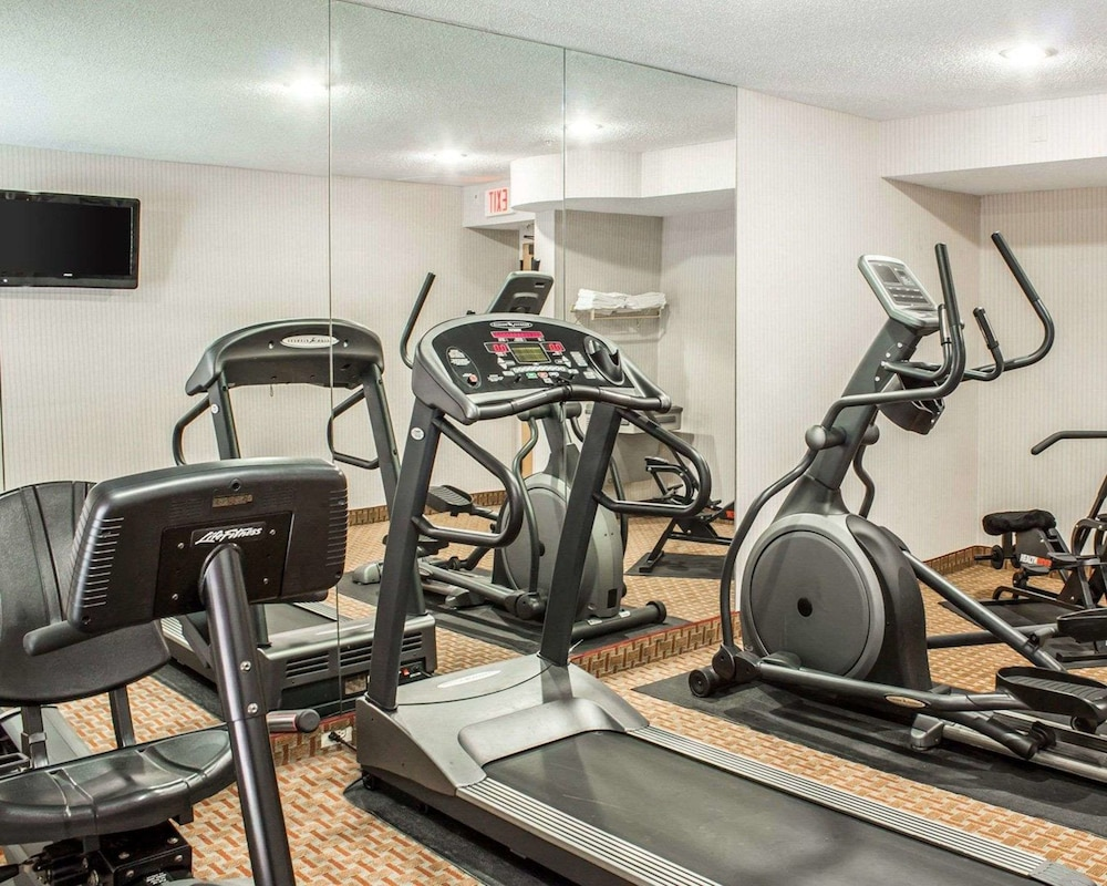 Fitness Facility, Quality Inn & Suites Raleigh North