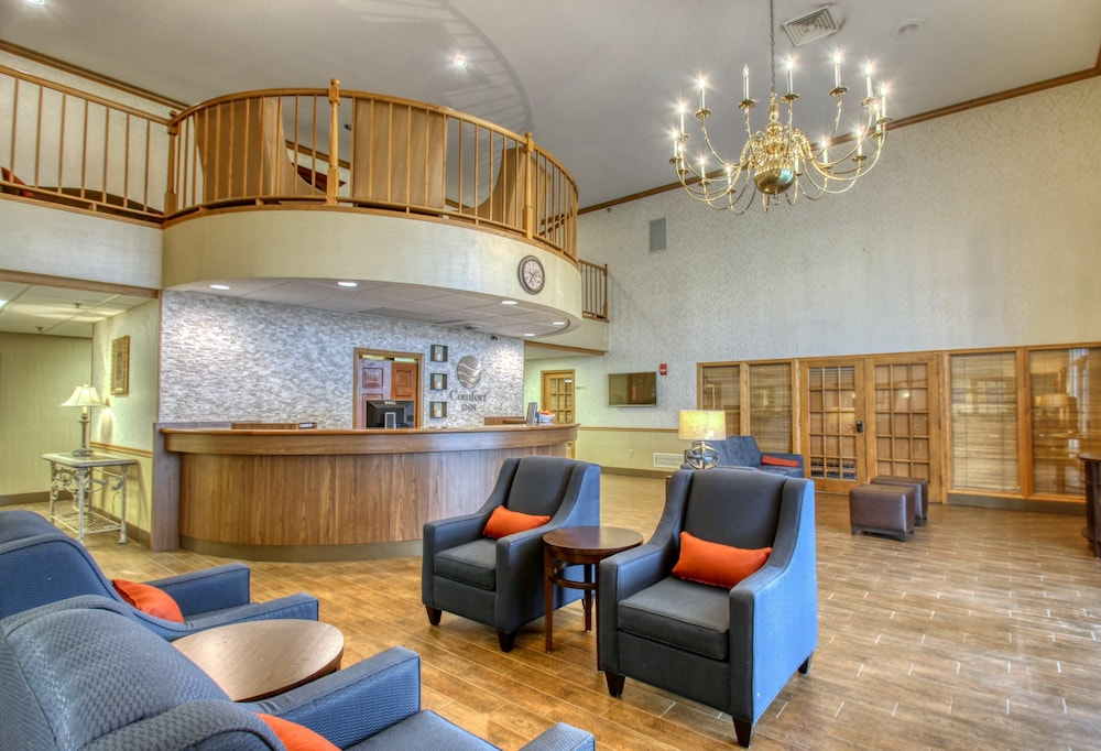 Reception, Comfort Inn