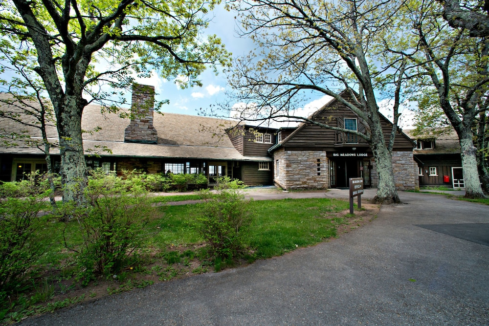 Front of Property, Big Meadows Lodge