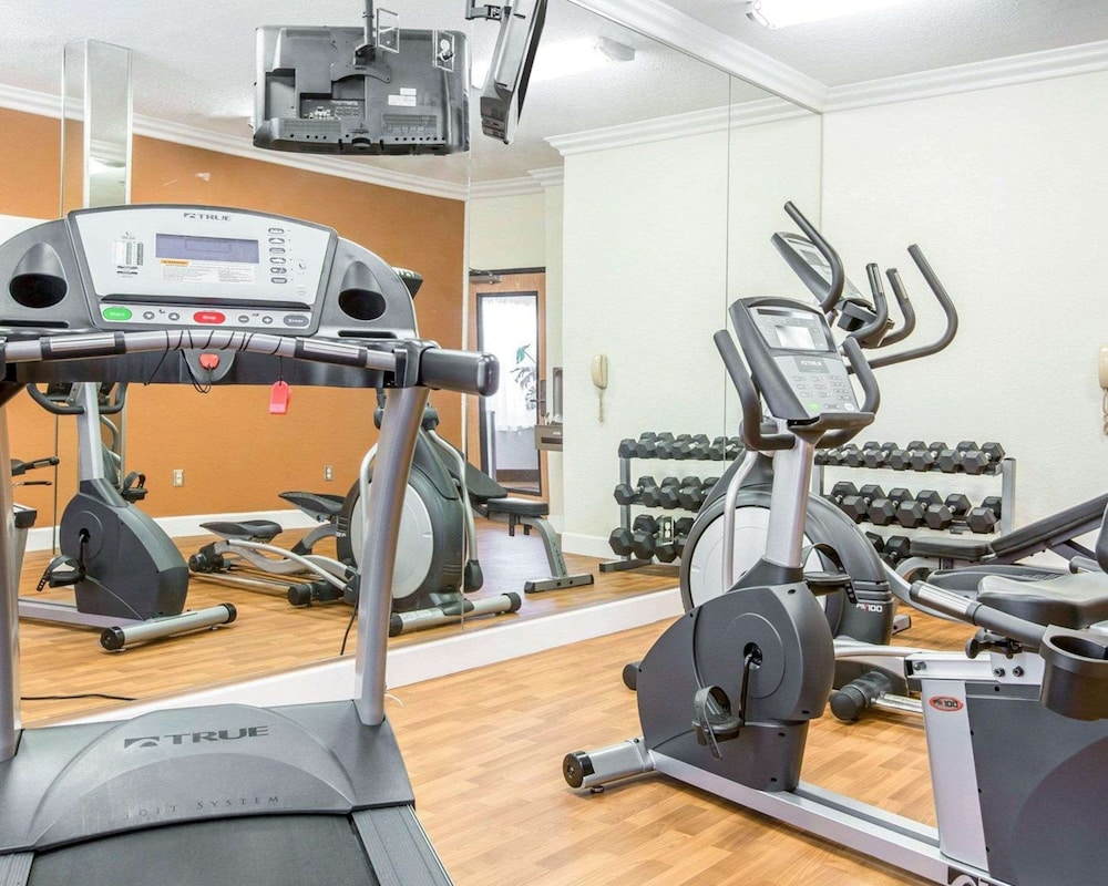 Fitness Facility, Comfort Suites Downtown Sacramento