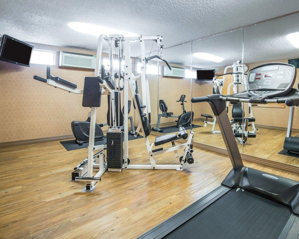 Fitness Facility, Quality Inn & Suites Casper near Event Center