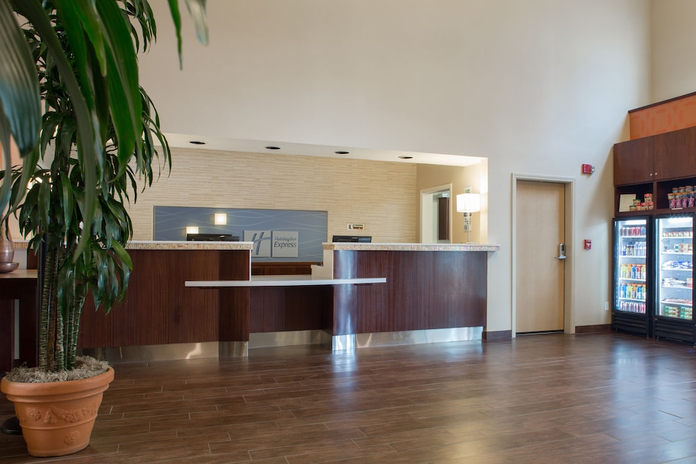 Reception, Holiday Inn Express Hotel & Suites San Jose-Morgan Hill, an IHG Hotel
