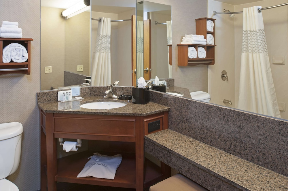 Bathroom, Hampton Inn Muskegon