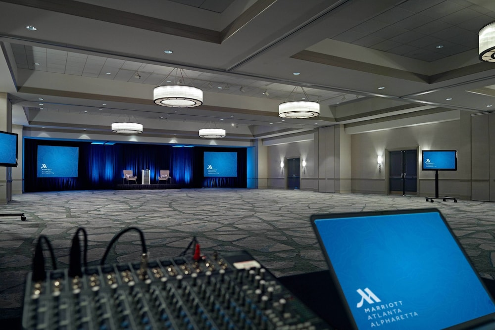 Meeting Facility, Atlanta Marriott Alpharetta