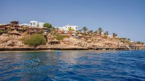 Plage privée, massages sur la plage, plongée sous-marine, snorkeling