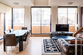 Two Bedroom Penthouse - Living Room