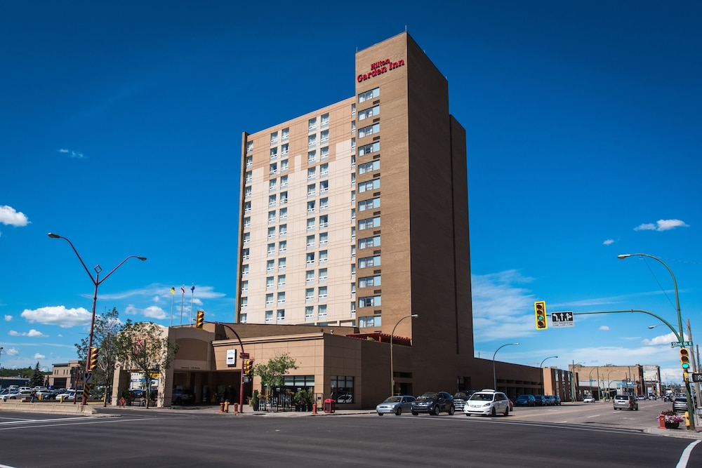 Front of Property, Hilton Garden Inn Saskatoon Downtown