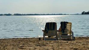 Private beach, water skiing, kayaking, rowing