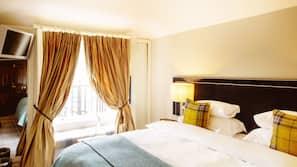 埃及棉床單、高級寢具、保險箱、設計每間自成一格
