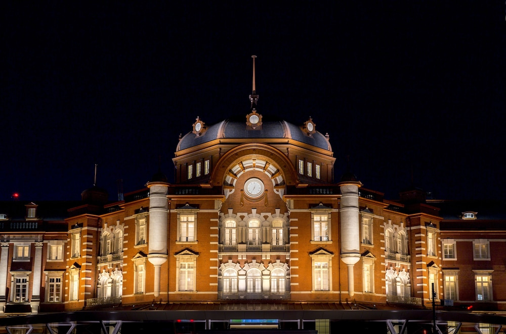 Front of Property - Evening/Night, The Tokyo Station Hotel