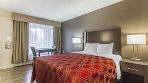Pillowtop beds, blackout drapes, iron/ironing board