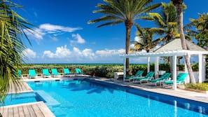 2 outdoor pools, free pool cabanas, pool umbrellas