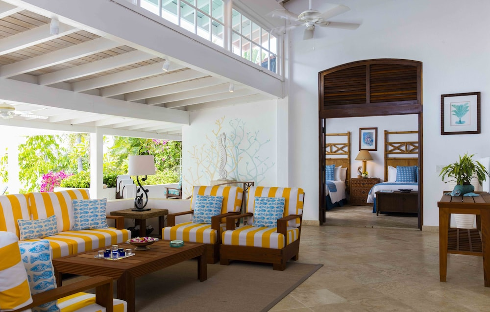 Living Area, Jumby Bay Island - Oetker Collection - All Inclusive