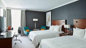 Pillowtop-Betten, Zimmersafe, Schreibtisch, Verdunkelungsvorhänge