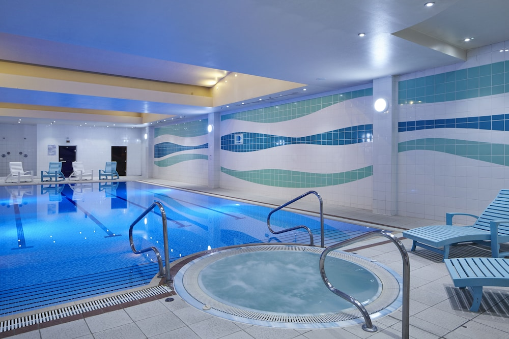 Indoor Pool, London Heathrow Marriott Hotel
