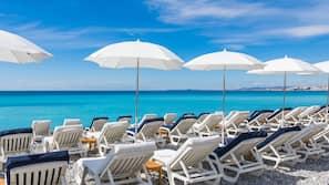 Una spiaggia nelle vicinanze, teli da spiaggia