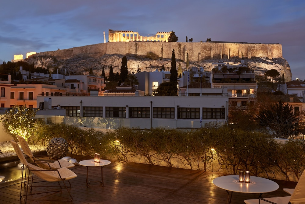 View from Property, Herodion Athens