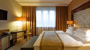 Biancheria da letto di alta qualità, materassi a doppio strato