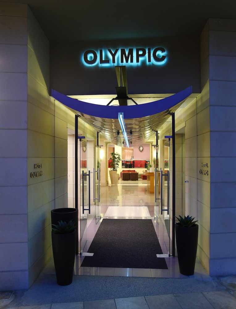 Property Entrance, Hotel Olympic