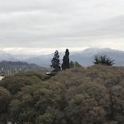 Vista para a montanha