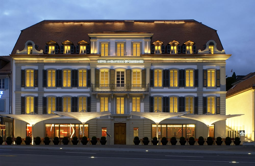 Front of Property - Evening/Night, Hotel Angleterre And Residence