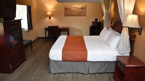 Premium bedding, Tempur-Pedic beds, in-room safe, desk