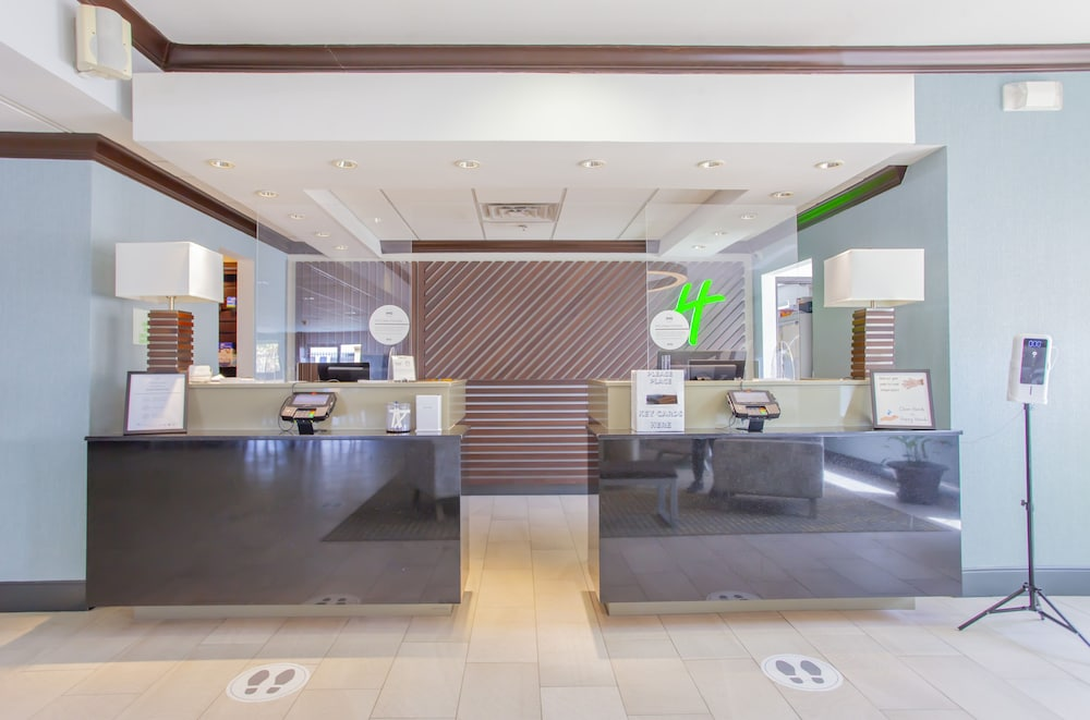 Reception, Holiday Inn Express & Suites Houston North-Spring Area, an IHG Hotel