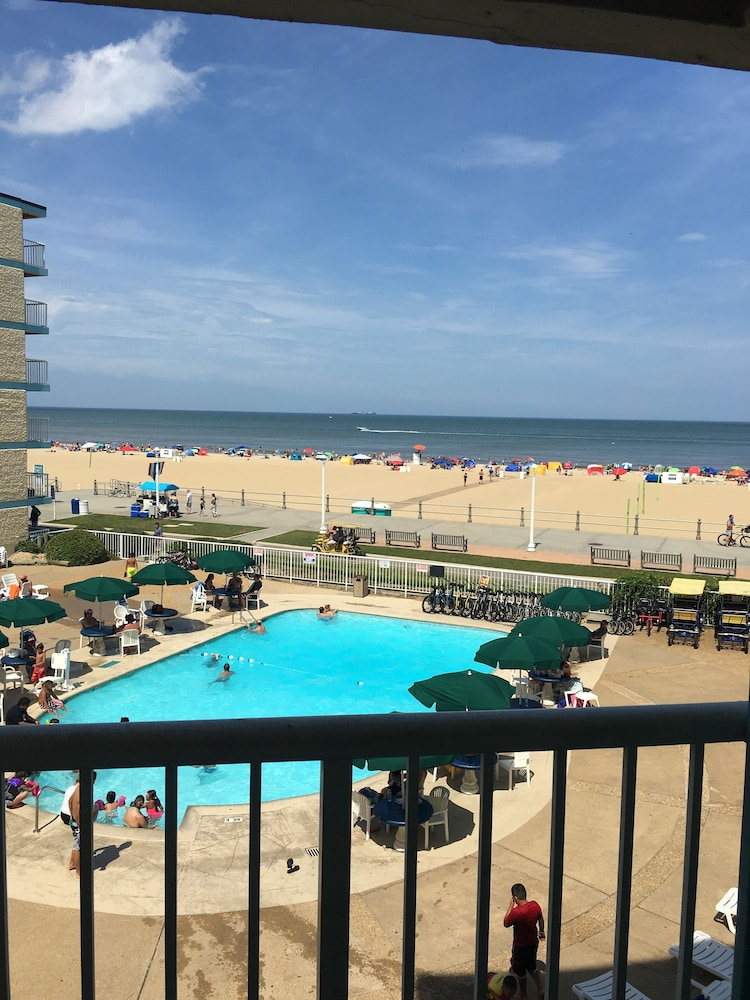 View from Room, Quality Inn & Suites Oceanfront