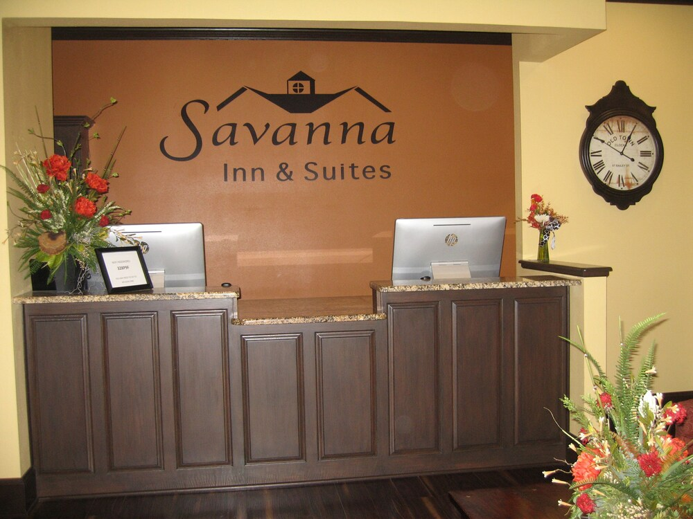 Reception, Savanna Inn & Suites