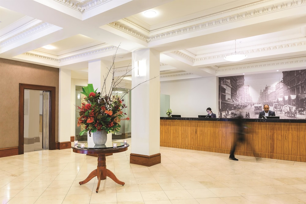 Lobby, Rendezvous Hotel Melbourne