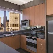 Cocina en la habitación
