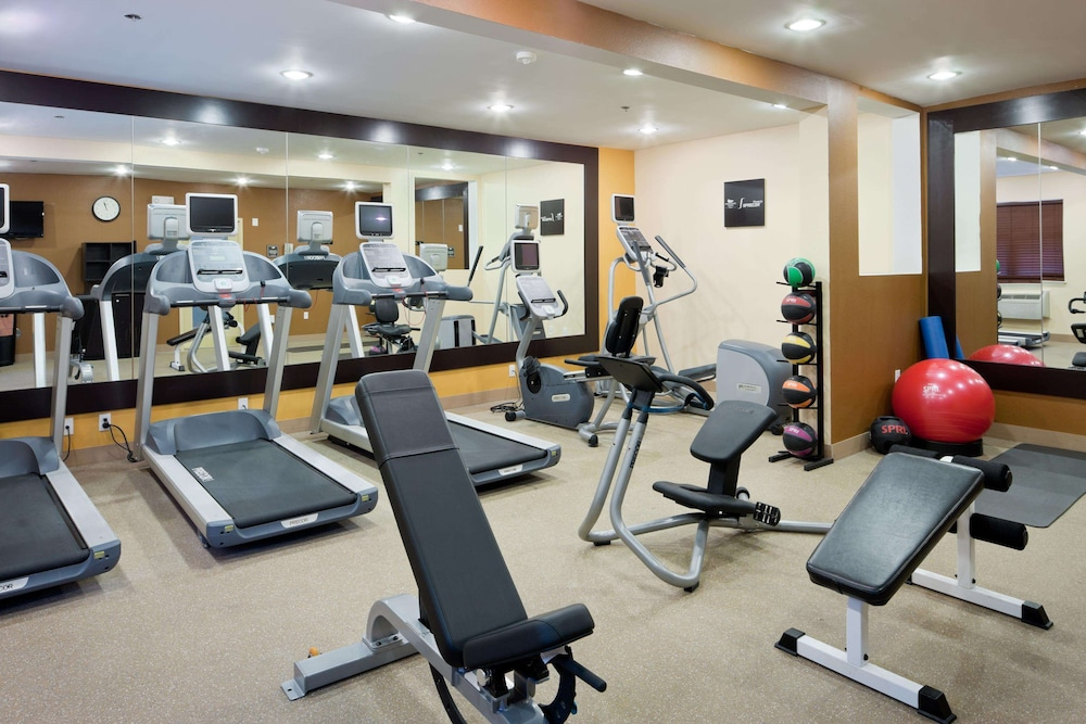 Fitness Facility, Homewood Suites by Hilton Boston / Andover