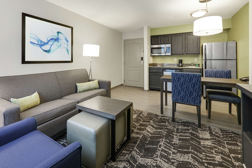 Living Area, Homewood Suites by Hilton St. Louis-Chesterfield