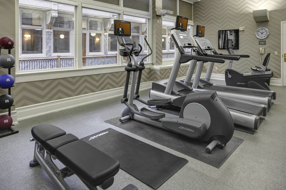 Fitness Facility, Residence Inn By Marriott Cleveland Downtown
