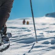 Paseos con raquetas de nieve