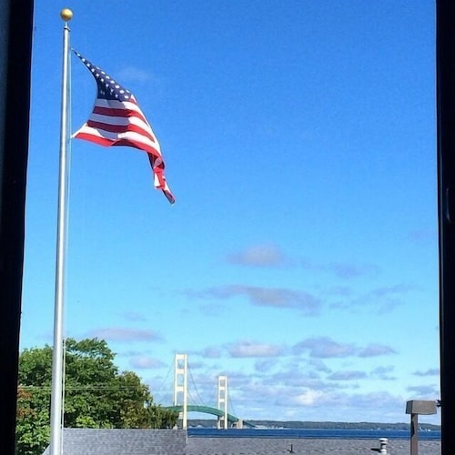 View from Property, Super 8 by Wyndham Bridgeview of Mackinaw City