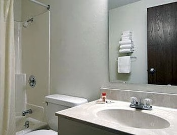 Bathroom, Super 8 by Wyndham Valley City