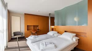 Minibar, in-room safe, soundproofing, free cots/infant beds