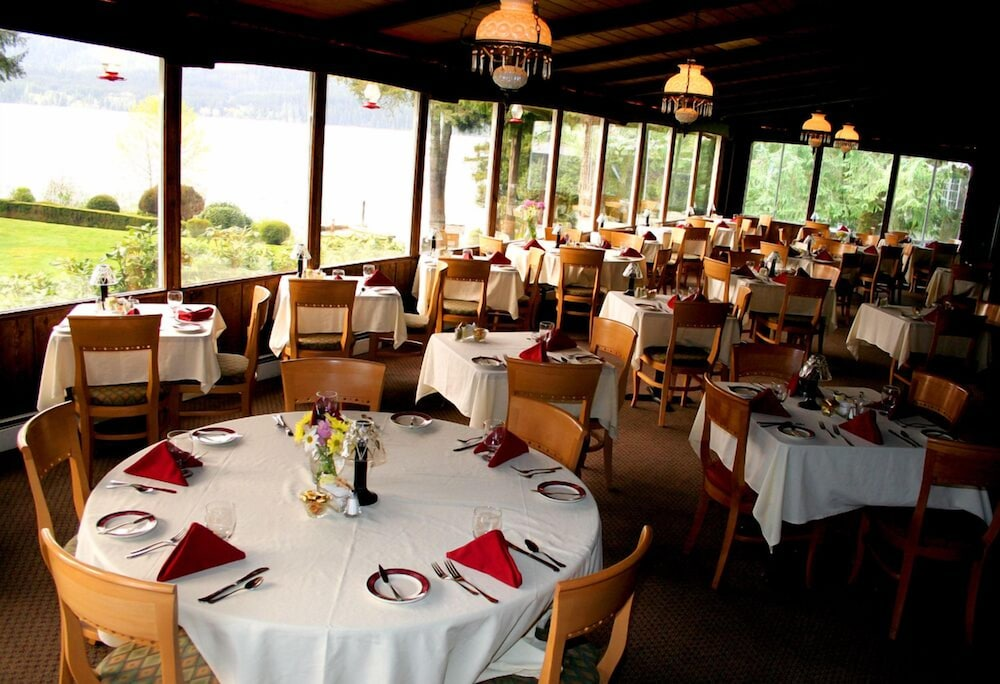 Restaurant, Lake Quinault Lodge